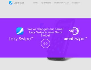 lazyswipe.com screenshot