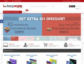 lazywyre.com screenshot