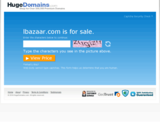 lbazaar.com screenshot