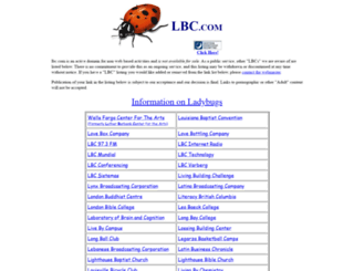 lbc.com screenshot