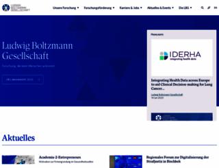 lbg.ac.at screenshot