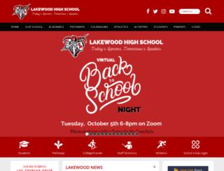 lblakewood.schoolloop.com screenshot
