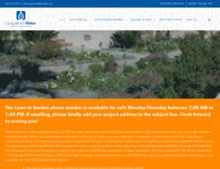lblawntogarden.com screenshot