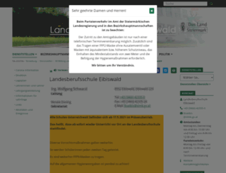 lbs-eibiswald.ac.at screenshot