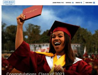 lbschools.net screenshot