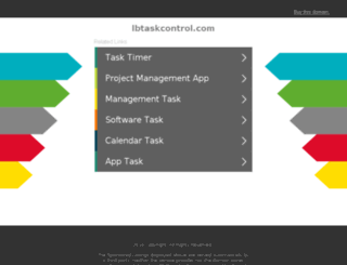 lbtaskcontrol.com screenshot
