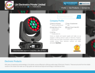 lbtpro.in screenshot