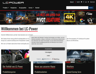 lc-power.de screenshot