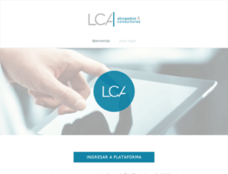 lcacampusvirtual.com screenshot