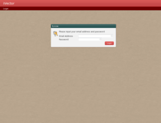 lcbtestadmin.ivector.co.uk screenshot