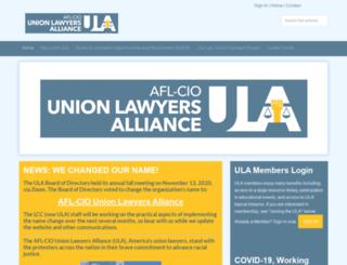lcc.aflcio.org screenshot