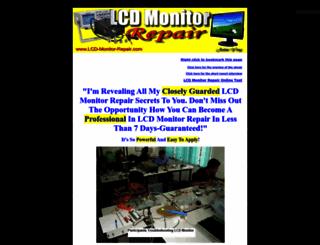 lcd-monitor-repair.com screenshot