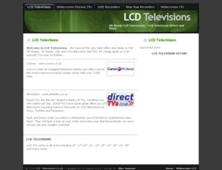 lcd-televisions.co.uk screenshot