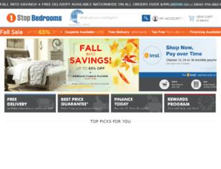 lcdn.1stopbedrooms.com screenshot