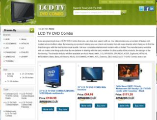 lcdtvdvdcombo.co.uk screenshot