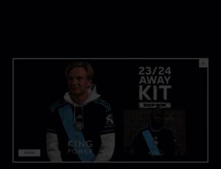 lcfc.com screenshot