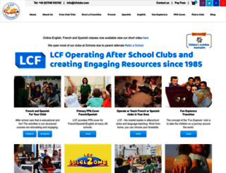 lcfclubs.com screenshot