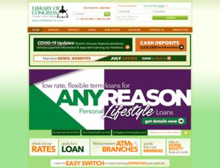 lcfcu.org screenshot