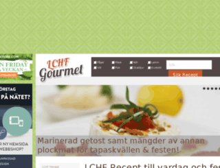 lchfgourmet.se screenshot