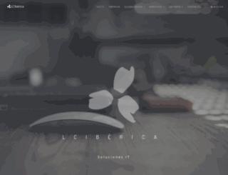 lciberica.es screenshot