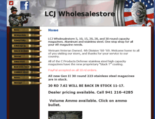 lcjwholesalestore.com screenshot