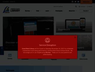 lclibrary.ca screenshot
