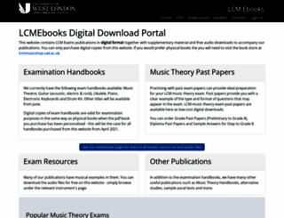 lcmebooks.org screenshot