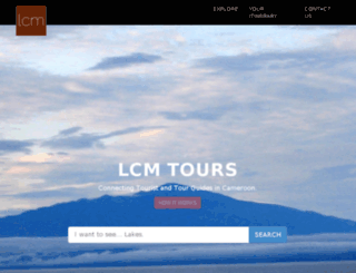 lcmtours.com screenshot