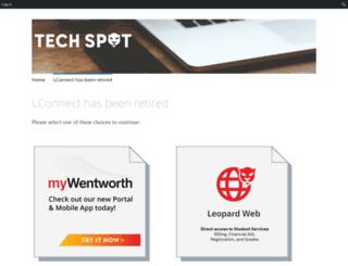 lconnect.wit.edu screenshot