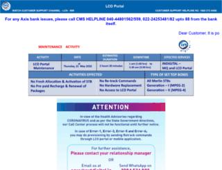 lcoportal.incablenet.net screenshot