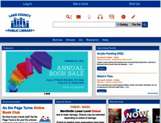 lcplin.org screenshot