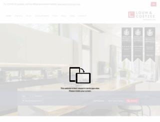 lcproperties.co.za screenshot