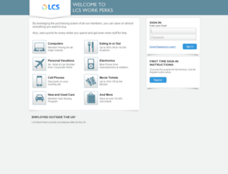 lcs.corporateperks.com screenshot