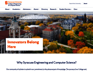 lcs.syr.edu screenshot
