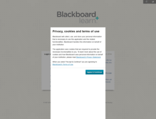 lcsc.blackboard.com screenshot