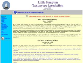 lctaxpayers.com screenshot