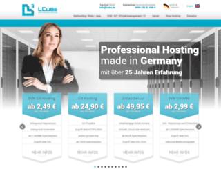 lcube-server.de screenshot