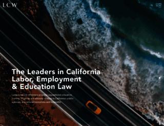 lcwlegal.com screenshot