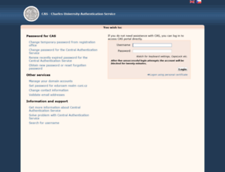ldap.cuni.cz screenshot