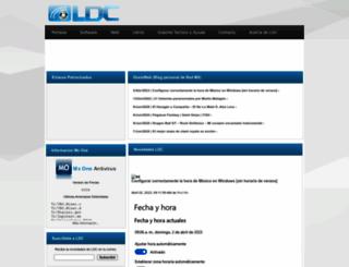 ldc.mx screenshot