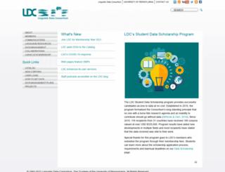 ldc.upenn.edu screenshot