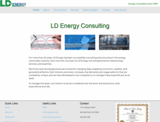 ldenergyconsulting.com screenshot