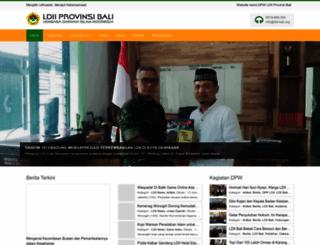 ldii-bali.org screenshot