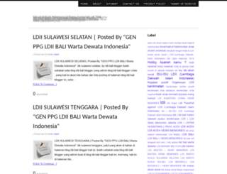 ldiibali.blogspot.com screenshot