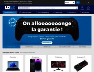 ldlc.ch screenshot