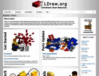 ldraw.org screenshot