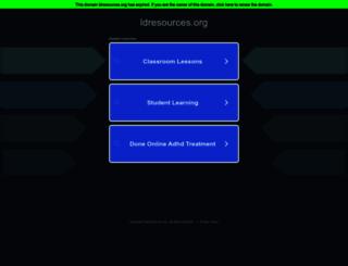 ldresources.org screenshot