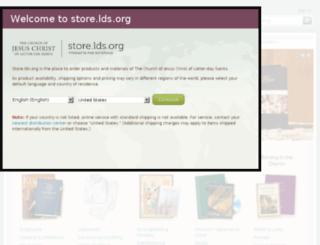 ldscatalog.com screenshot