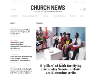 ldschurchnews.com screenshot