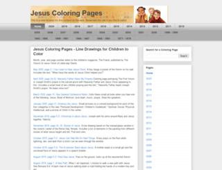 ldscoloringpages.net screenshot